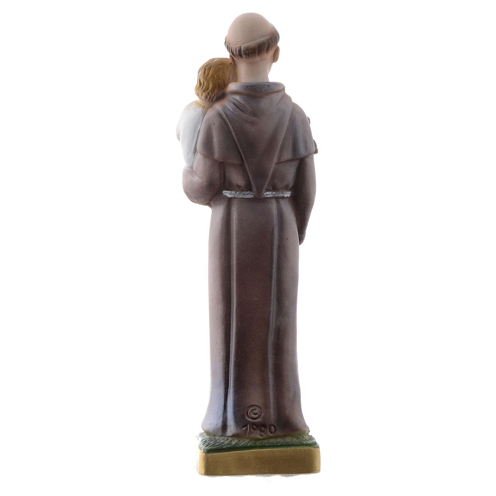 Saint Antoine de Padoue plâtre 20 cm 4