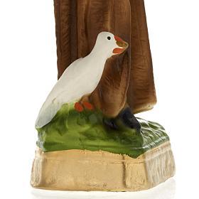 Statua San Benedetto gesso 20 cm s3