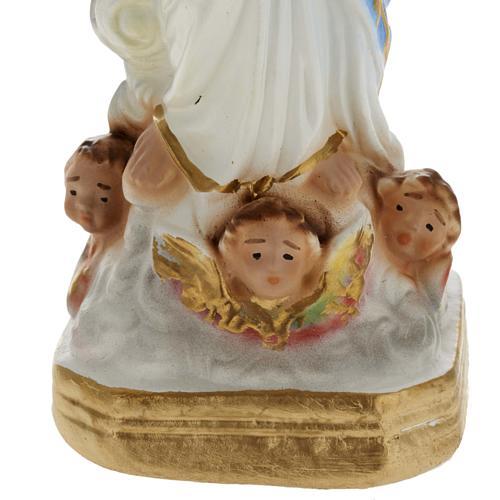 Statua Notre Dame des Victoires gesso 20 cm 3