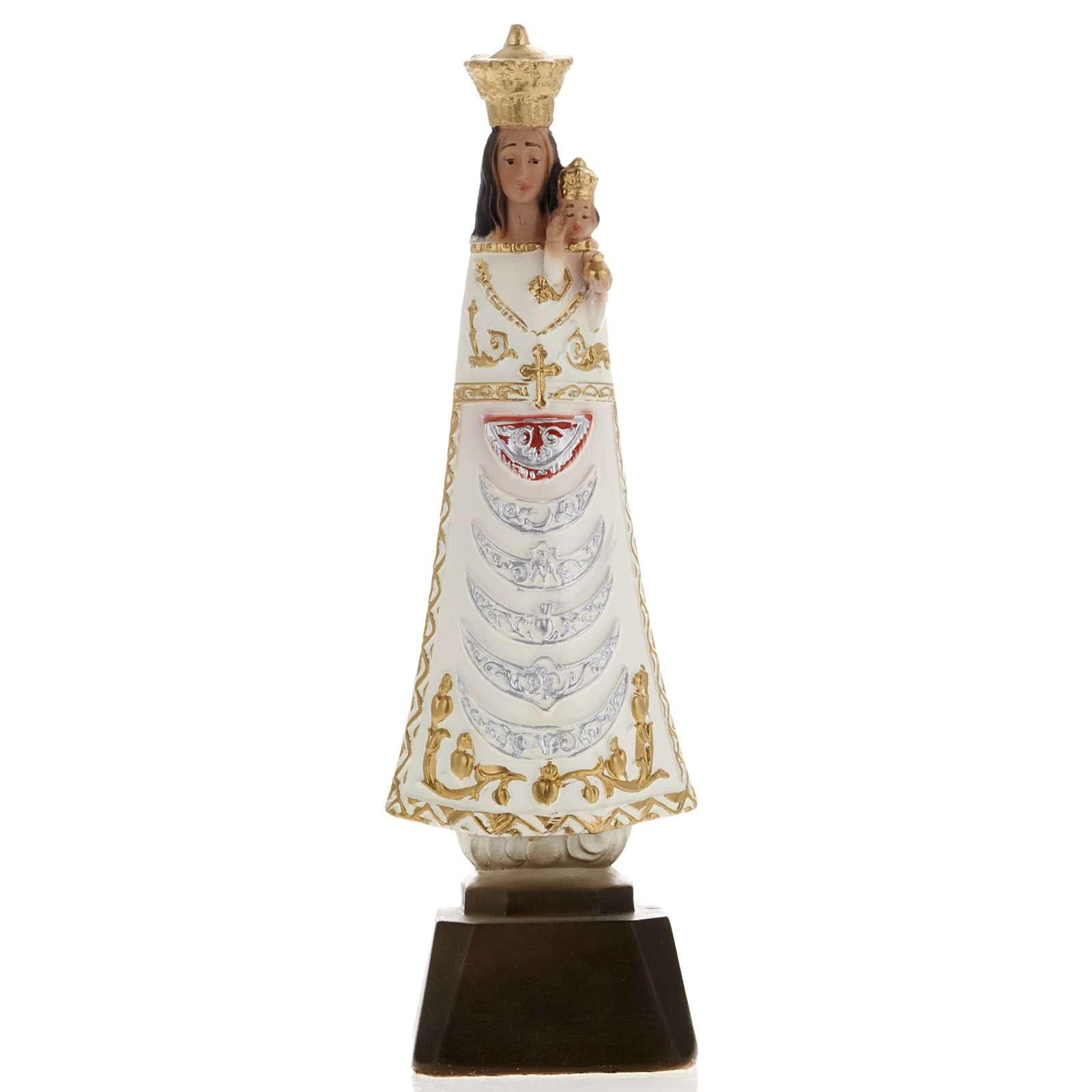 Statua Madonna di Loreto gesso 25 cm 4