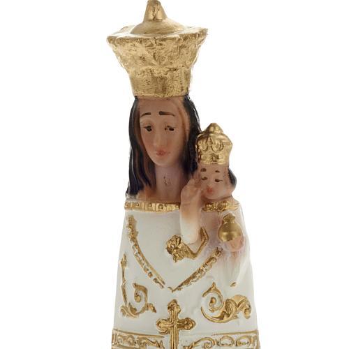 Statua Madonna di Loreto gesso 25 cm 2