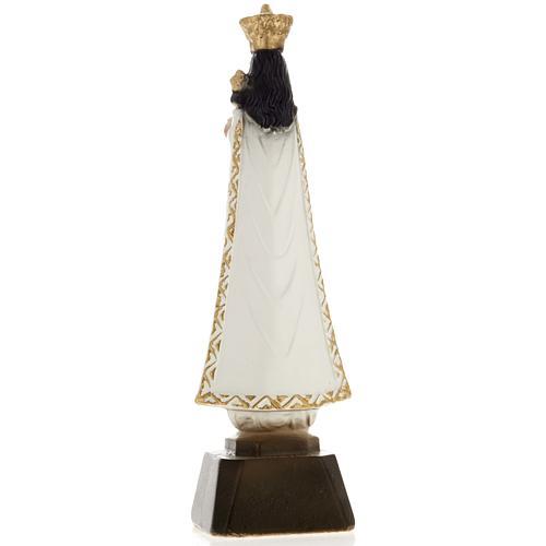 Statua Madonna di Loreto gesso 25 cm 3