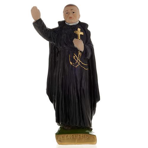 Statua Clemens Maria gesso 20 cm 1