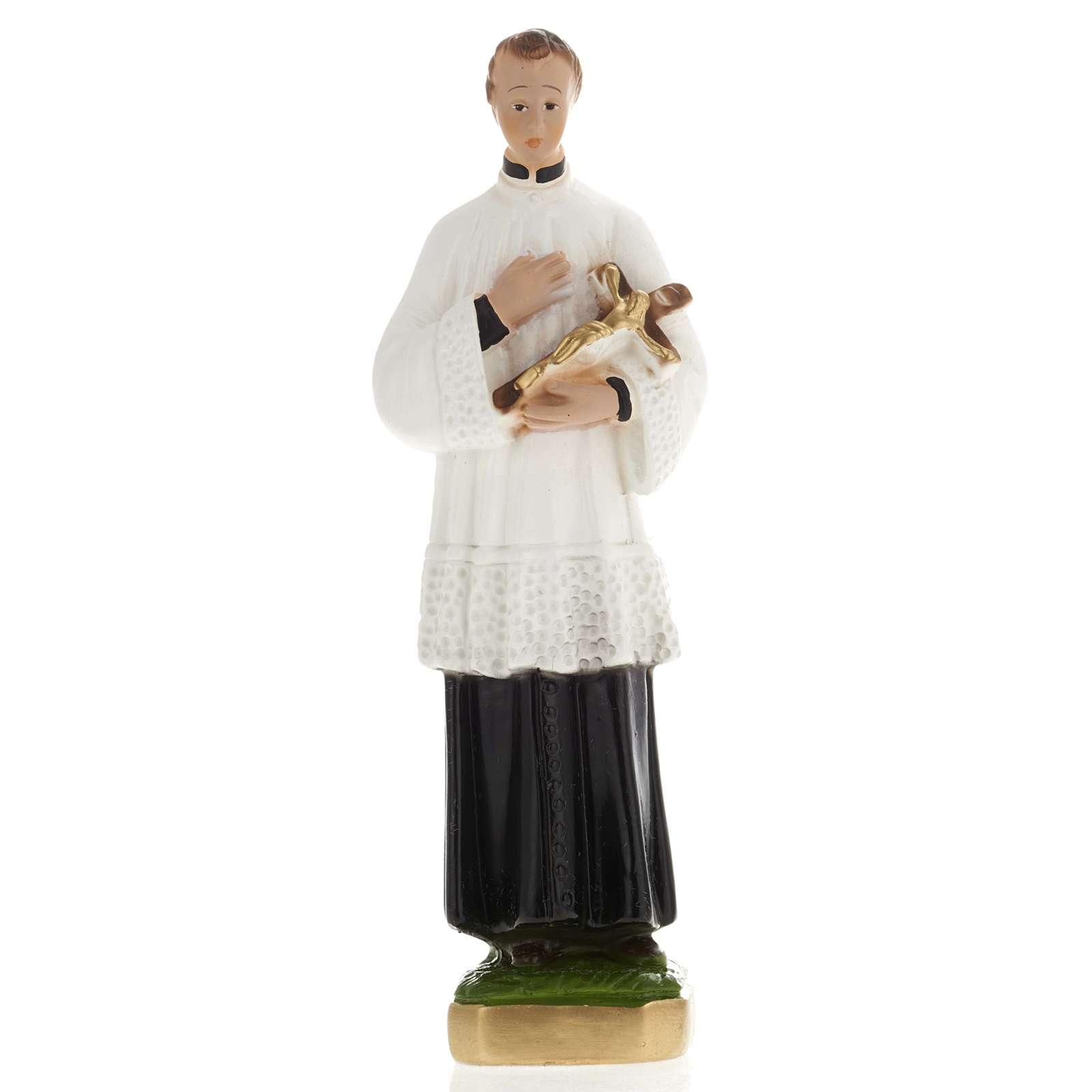 Statue Saint Louis plâtre 20 cm 4
