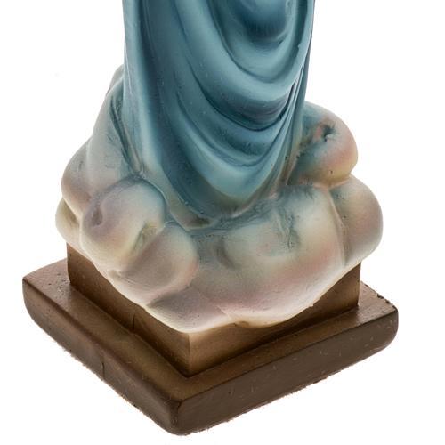 Statua Madonna Medjugorje gesso 25 cm 3