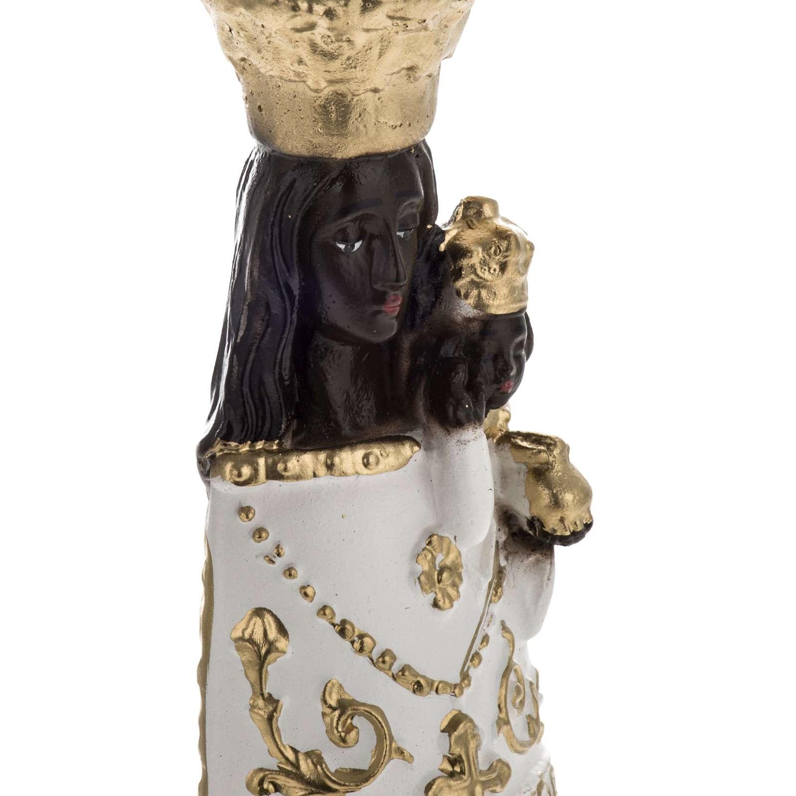 Statue Notre Dame de Lorette plâtre 25 cm 4