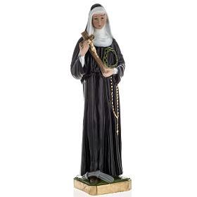 Saint Rita Statue in plaster, 60 cm s1
