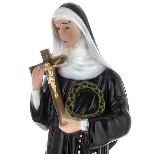 Saint Rita Statue in plaster, 60 cm 4