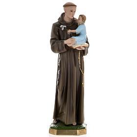 Statua Sant'Antonio da Padova 60 cm gesso s1