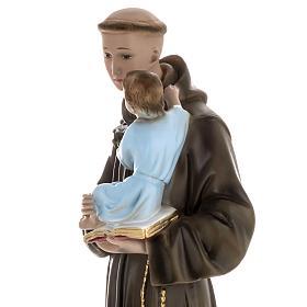 Statua Sant'Antonio da Padova 60 cm gesso s4