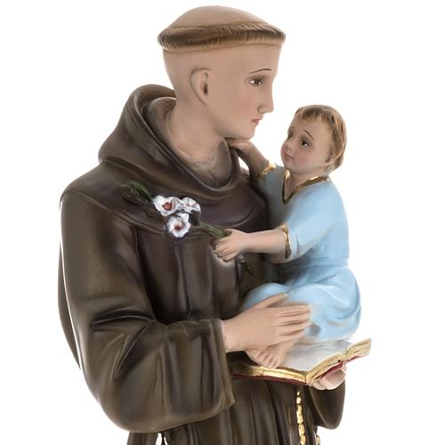 Statua Sant'Antonio da Padova 60 cm gesso 2