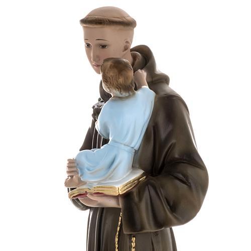 Statua Sant'Antonio da Padova 60 cm gesso 4