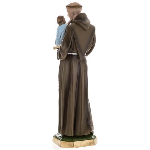 Statua Sant'Antonio da Padova 60 cm gesso 5