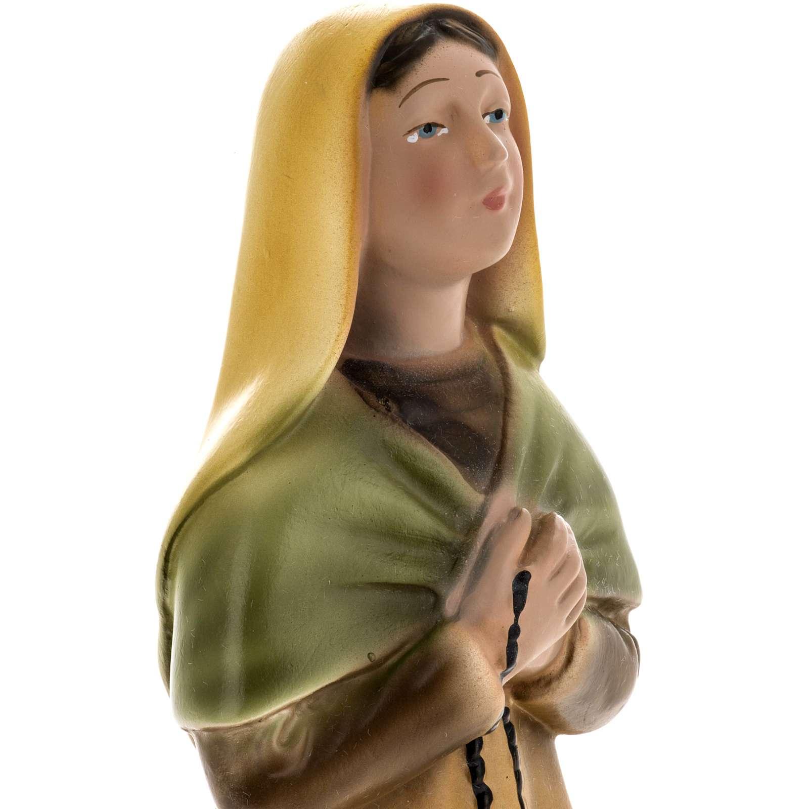 Estatua Santa Bernadette 30 cm. yeso 4