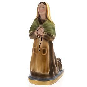 Estatua Santa Bernadette 30 cm. yeso s1