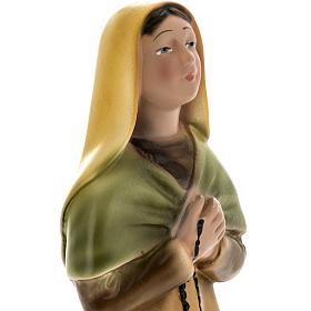 Estatua Santa Bernadette 30 cm. yeso s2