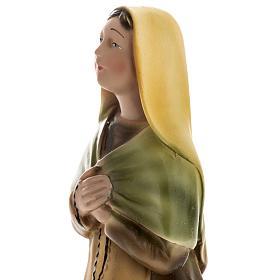 Estatua Santa Bernadette 30 cm. yeso s4