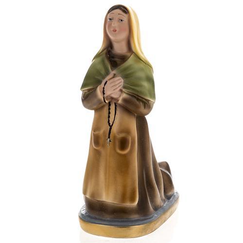 Estatua Santa Bernadette 30 cm. yeso 1