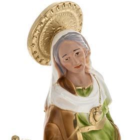 Statua Sant'Anna da Caserta 30 cm gesso s2