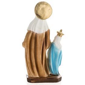 Statua Sant'Anna da Caserta 30 cm gesso s5