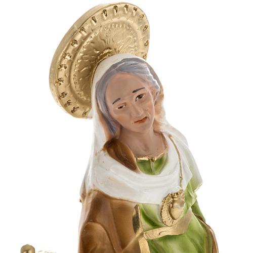Statua Sant'Anna da Caserta 30 cm gesso 2
