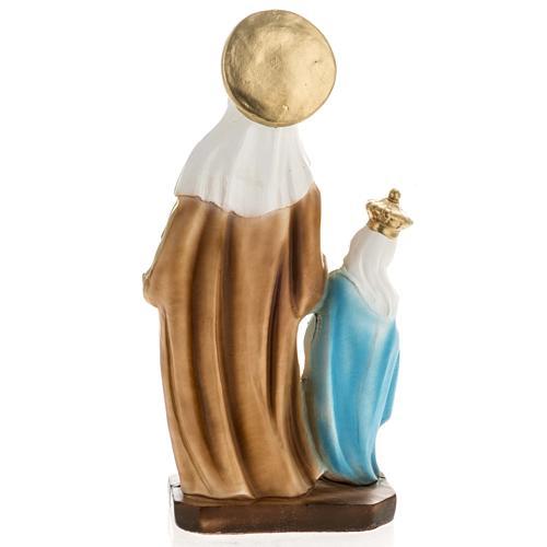 Statua Sant'Anna da Caserta 30 cm gesso 5