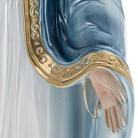Our Lady of The Miracles, pearlized plaster statue, 40 cm s4