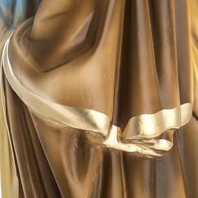 Statua San Giuseppe con bambino 50 cm gesso s7