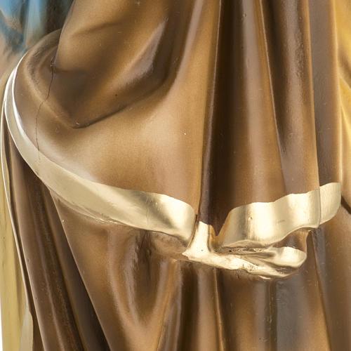 Statua San Giuseppe con bambino 50 cm gesso 7