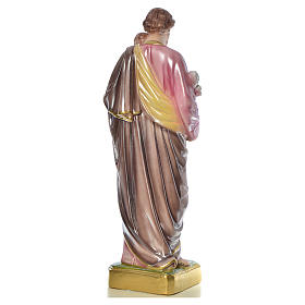 Saint Joseph with Child statue in plaster, 50 cm s15