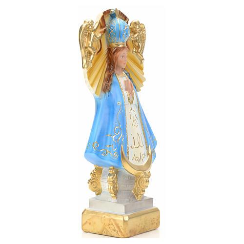 Our Lady of San Juan de los Lagos statue in plaster, 30 cm 2