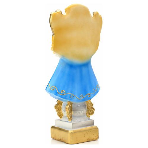 Our Lady of San Juan de los Lagos statue in plaster, 30 cm 4