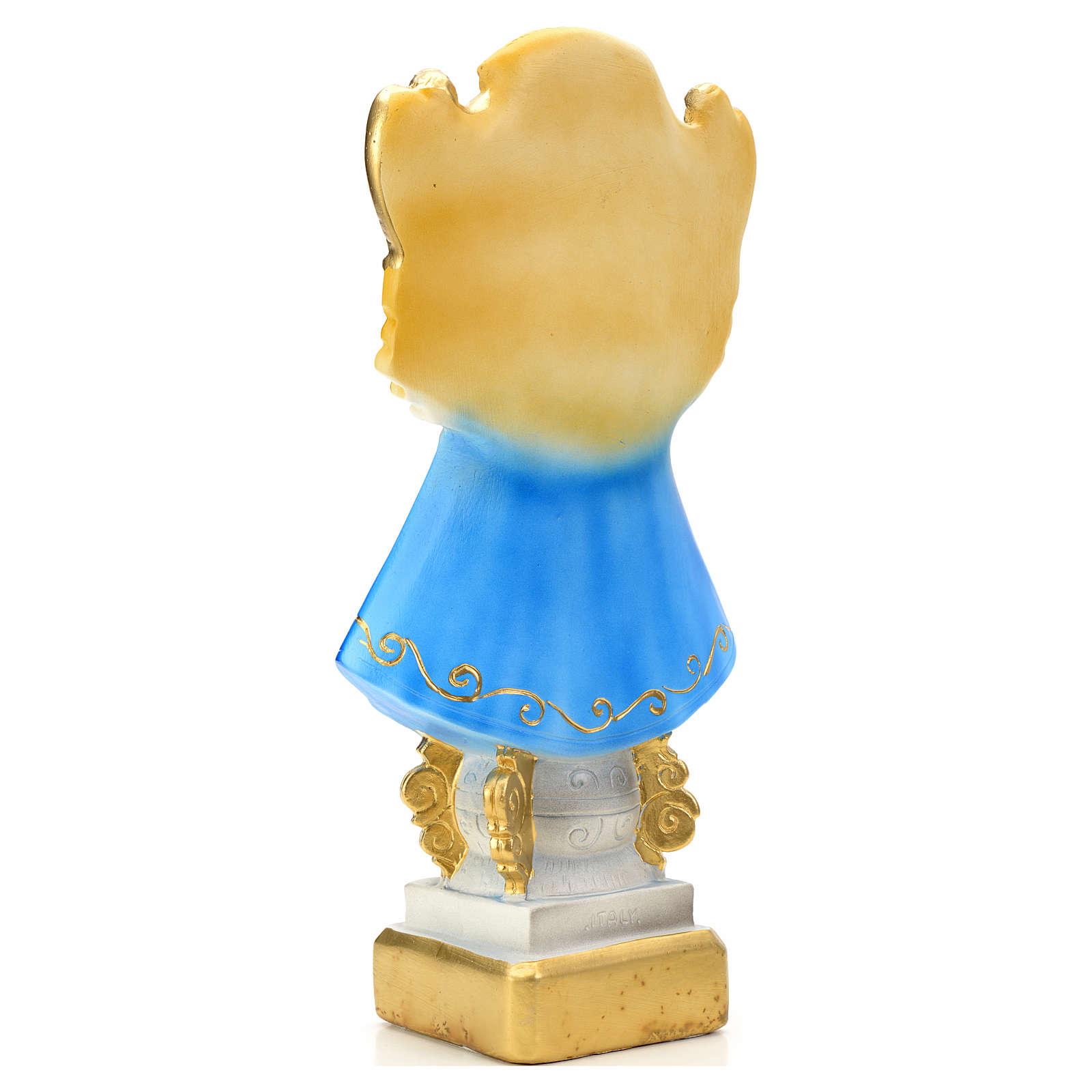 Virgen de San Juan de los Lagos 30 cm yeso 4