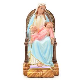 Madonna della Provvidenza 30 cm gesso s1