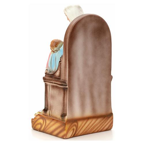 Madonna della Provvidenza 30 cm gesso 4