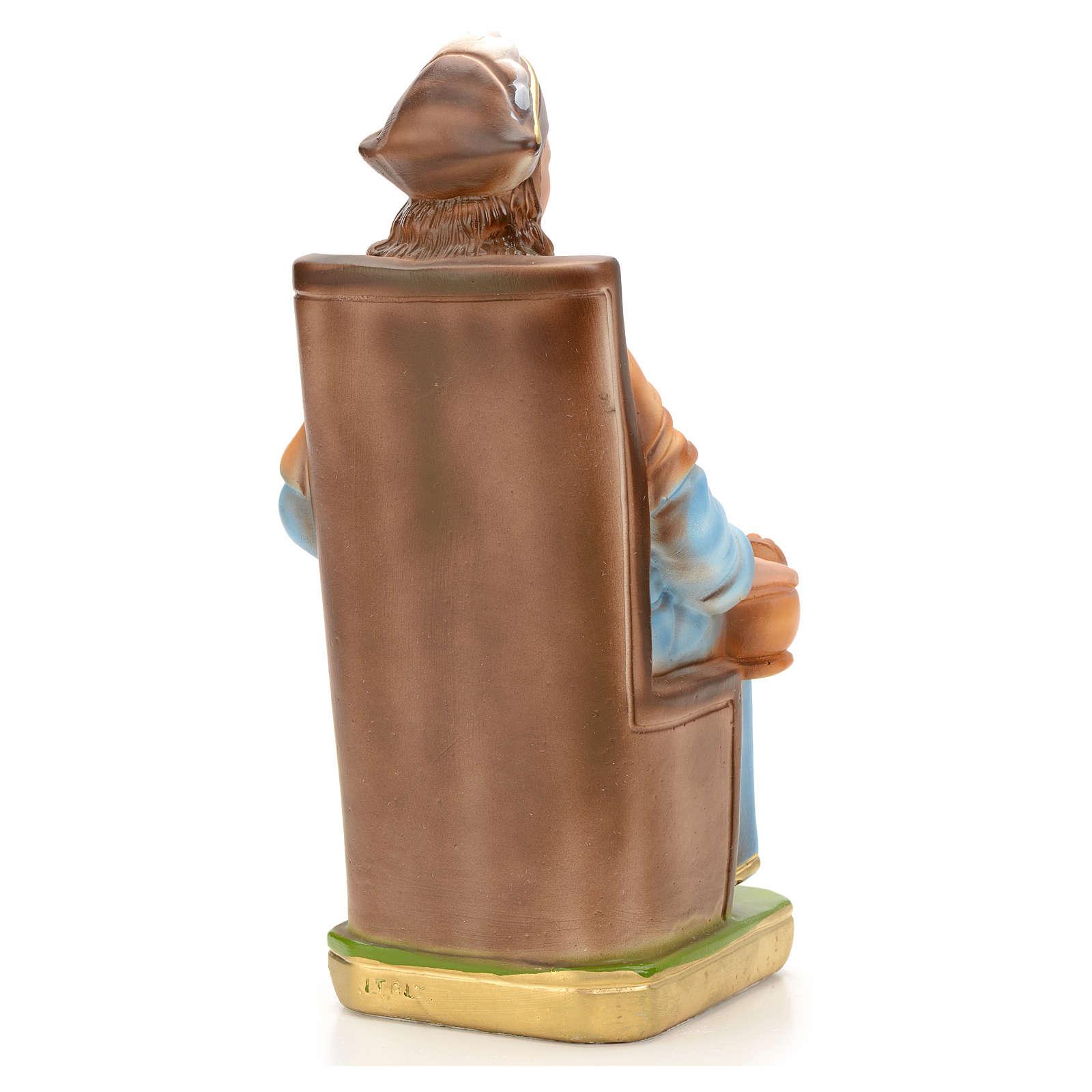 Santo Bambino d'Antocha cm 25 gesso 4