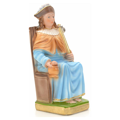 Holy Child of Atocha statue in plaster, 25 cm 2