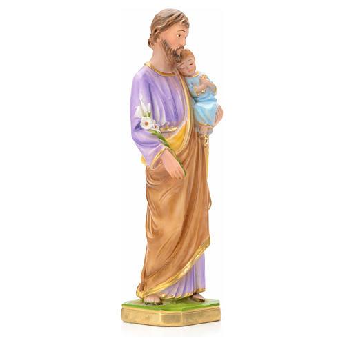 San José con Niño Jesús 30 cm yeso 2