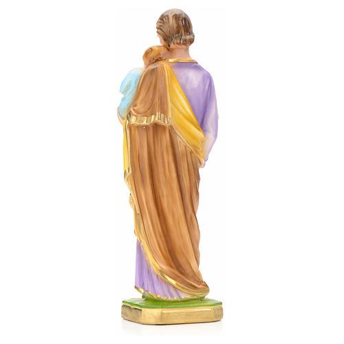 San José con Niño Jesús 30 cm yeso 4