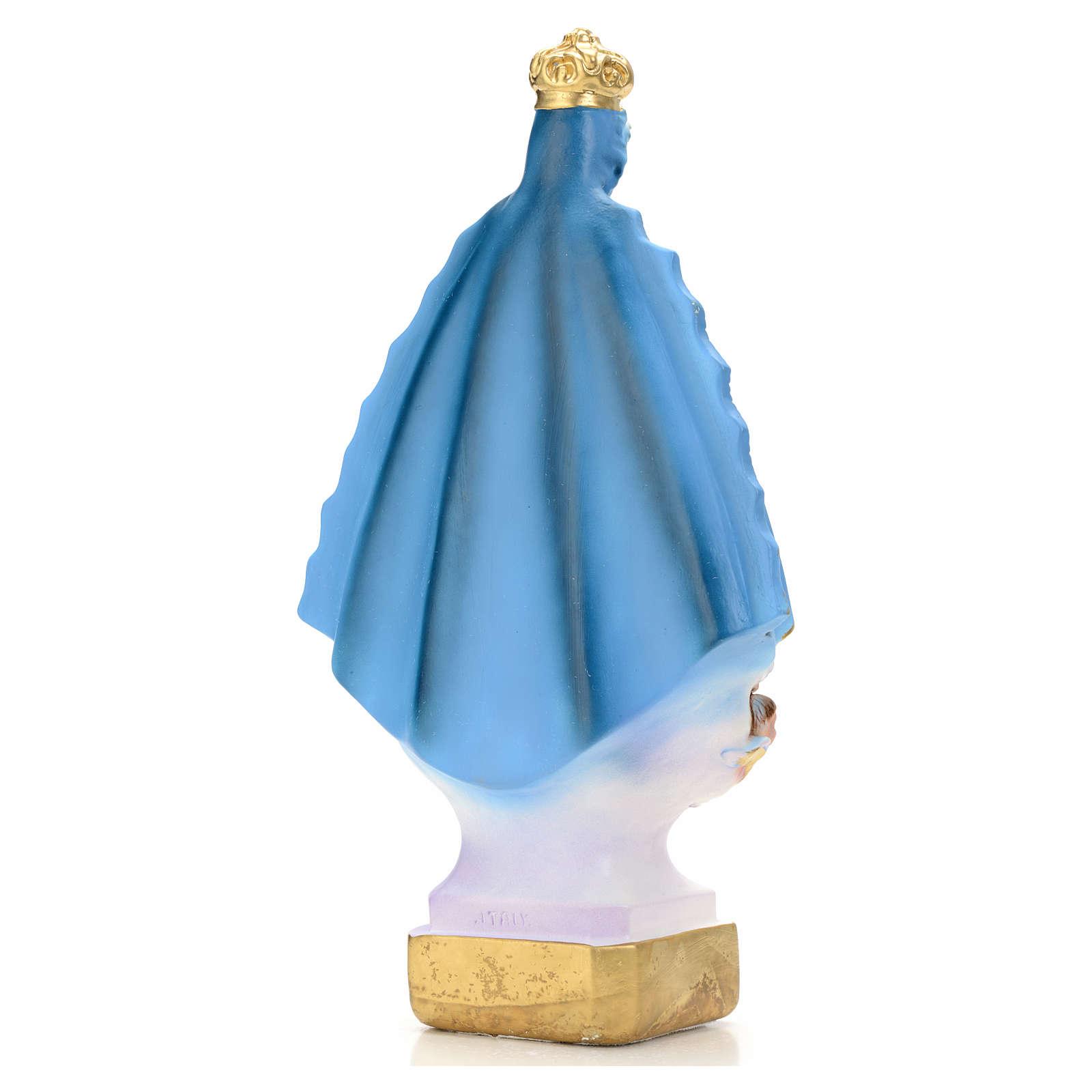 Madonna di Regla 30 cm gesso 4