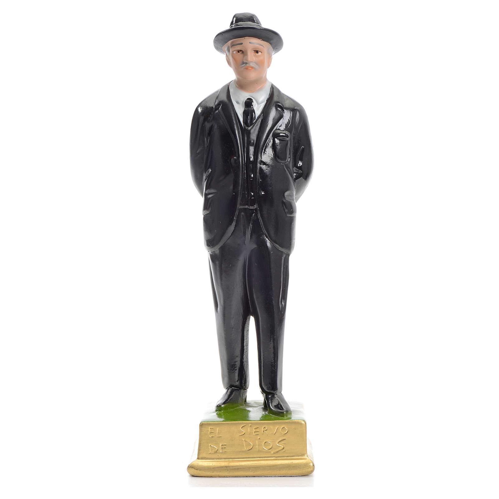 Hernandez El Siervo de Dios statue in plaster 25cm 4