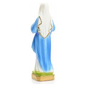 Sacré Coeur de Marie en plâtre 16 cm s3