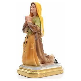 Santa Bernadette 20 cm gesso s2