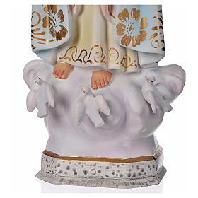 Madonna di Fatima gesso 30 cm s4