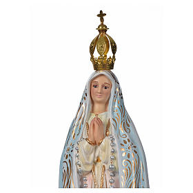 Madonna di Fatima gesso 30 cm s5
