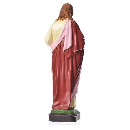 Sacré Coeur Jésus 40 cm matériel incassable 3