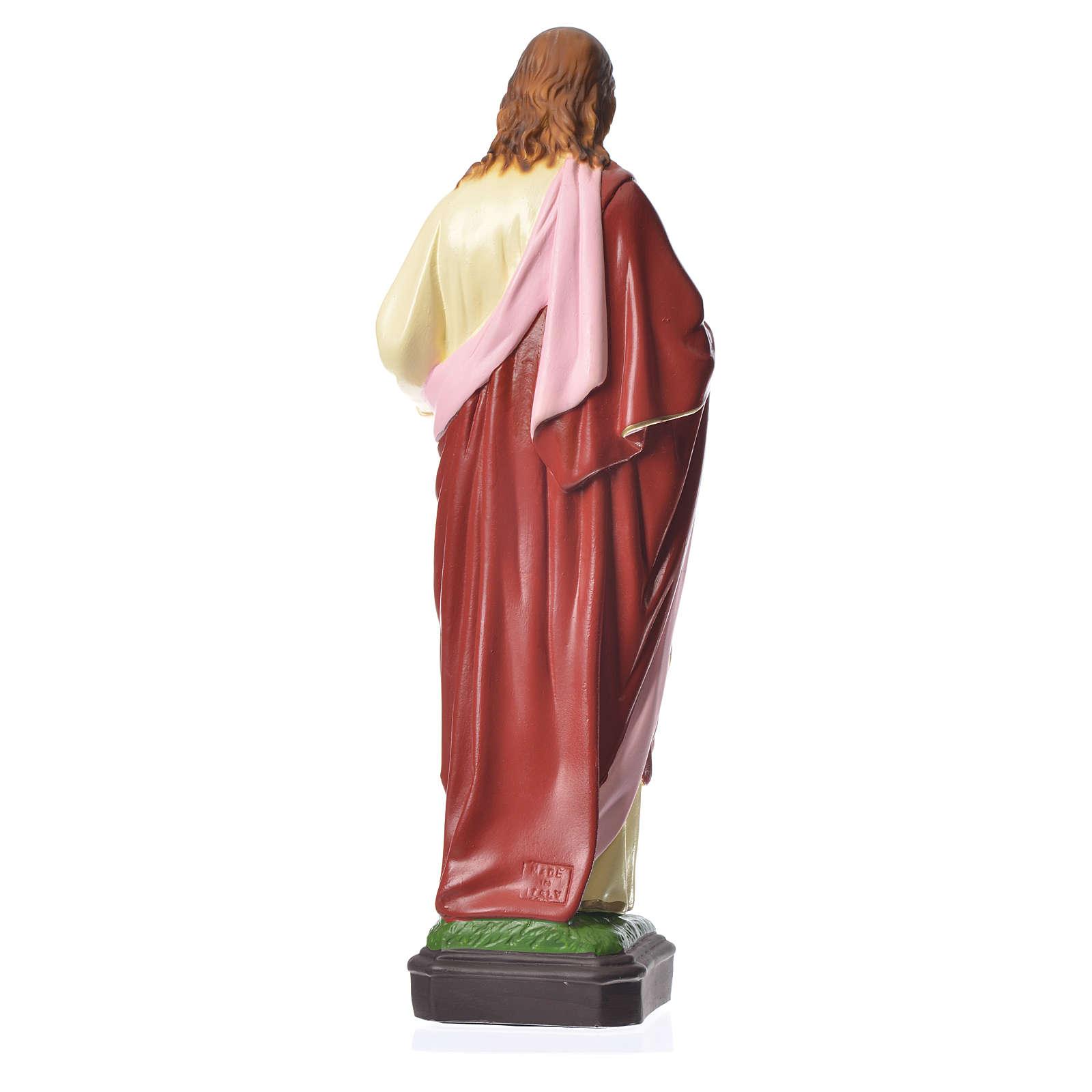 Sacro Cuore Gesù 40 cm materiale infrangibile 4