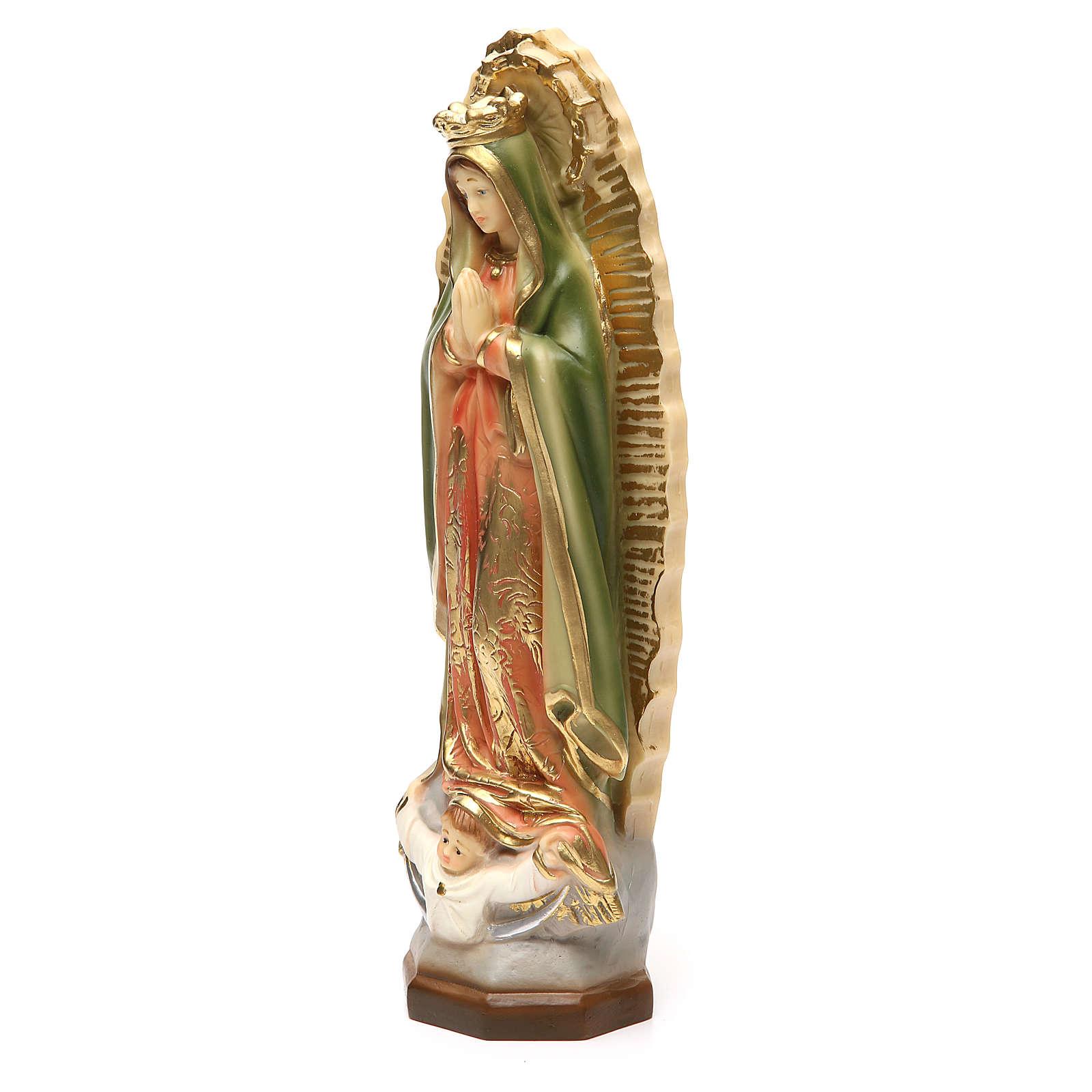 Notre-Dame de Guadeloupe 30 cm résine 4