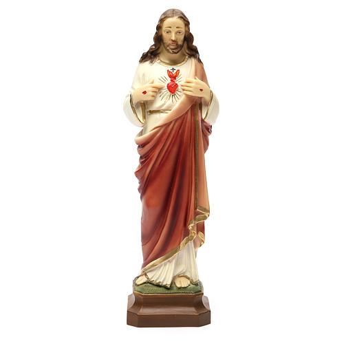 Sacro Cuore di Gesù 30 cm resina 1