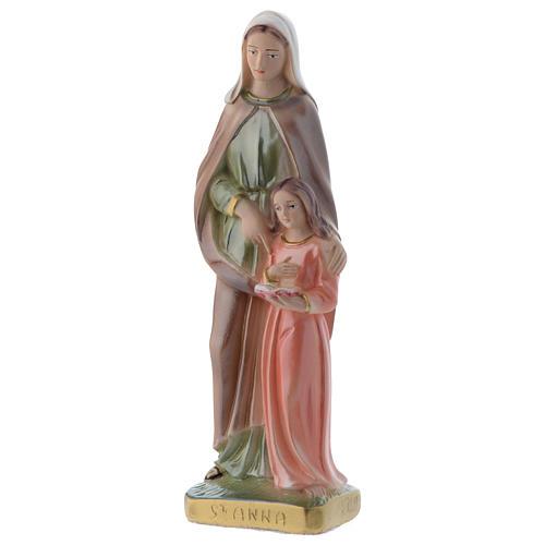 Sant'Anna 20 cm statua gesso madreperlato 2